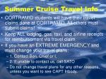 summer cruise travel info1