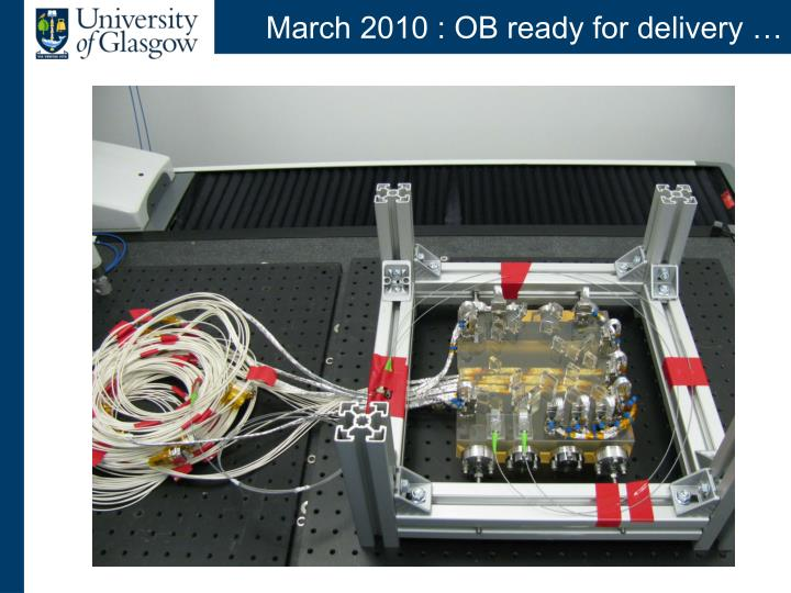 March 2010 ob ready for delivery