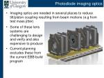 photodiode imaging optics