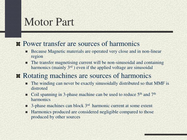 Motor Part