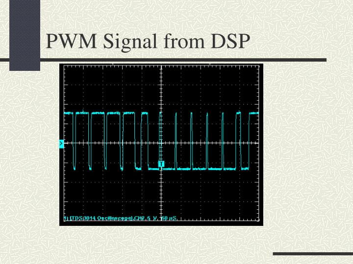 PWM Signal from DSP