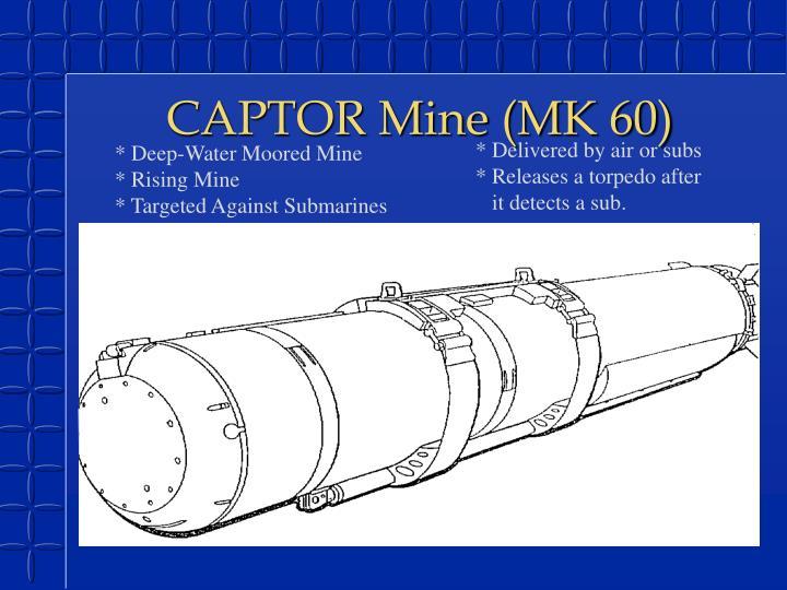 CAPTOR Mine (MK 60)