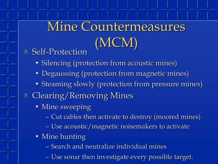 Mine Countermeasures (MCM)