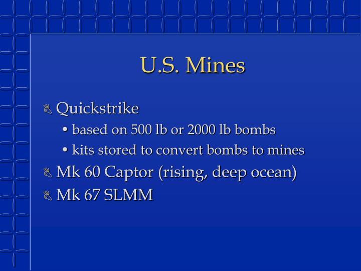 U.S. Mines