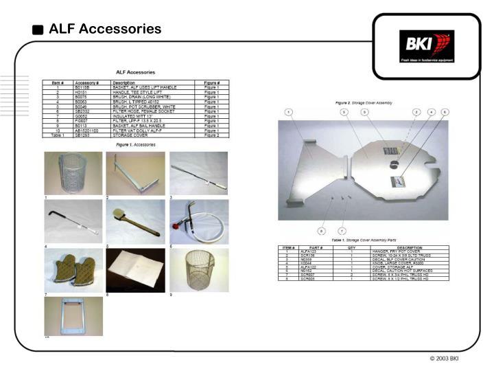 ALF Accessories
