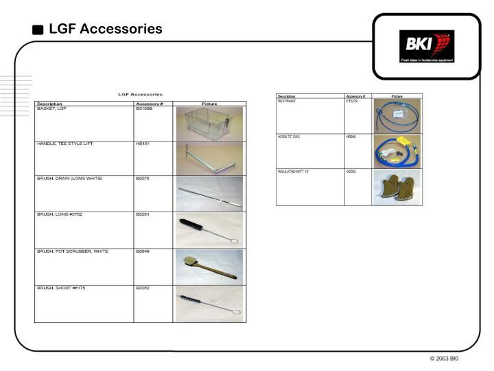 LGF Accessories