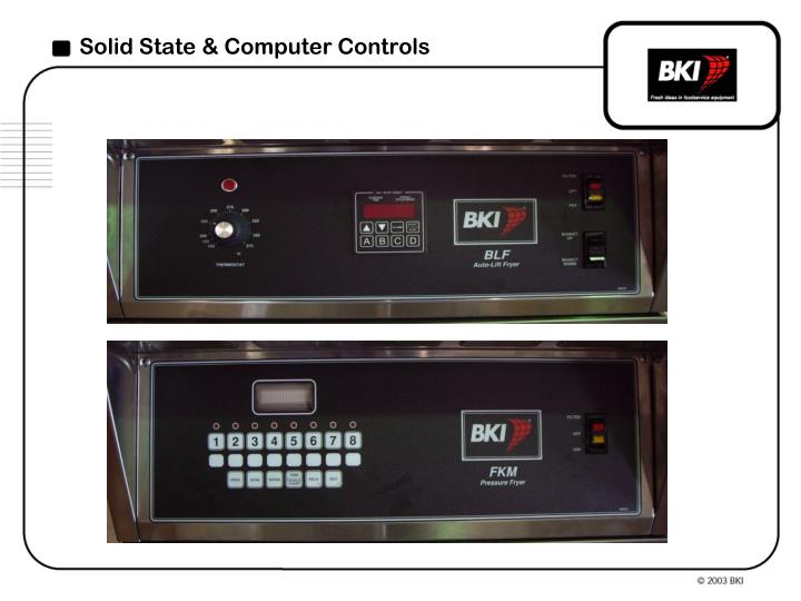 Solid State & Computer Controls