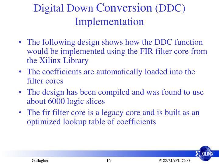 Digital Down