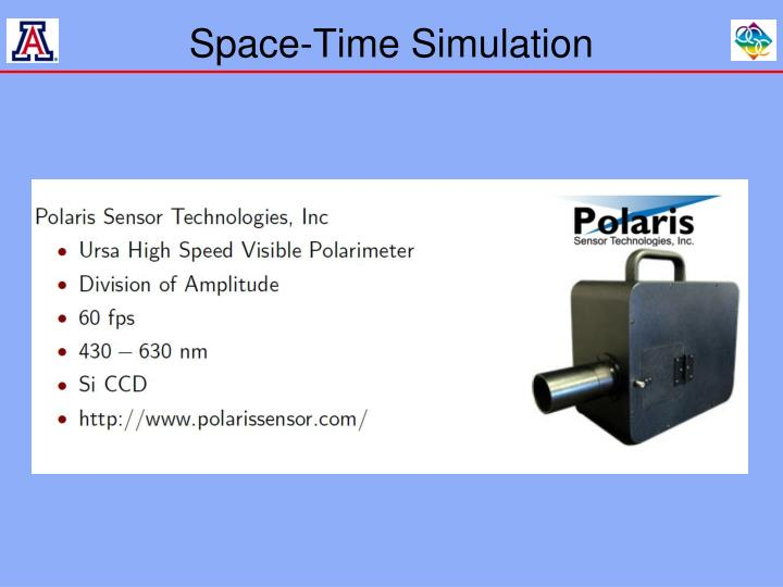 Space-Time Simulation