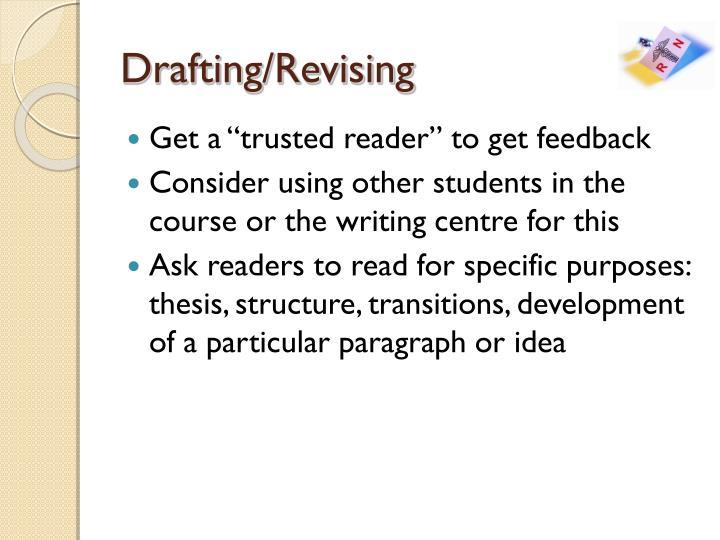 Drafting/Revising