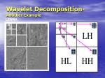 wavelet decomposition another example