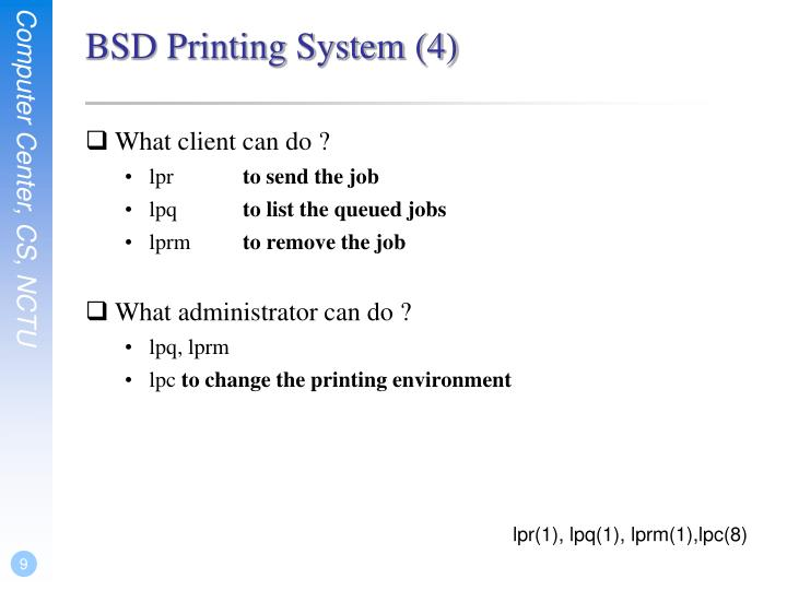 BSD Printing System (4)