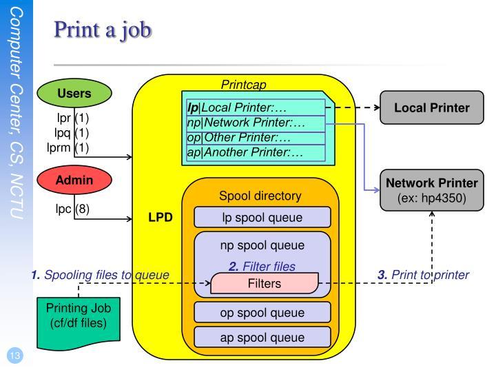 Print a job