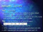 helium izotopy