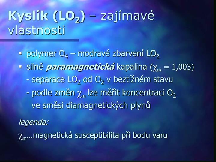 Kyslík (