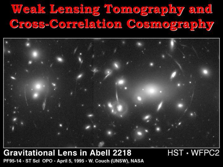 Weak Lensing Tomography and Cross-Correlation Cosmography