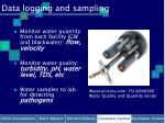 data logging and sampling