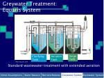 greywater treatment equaris system