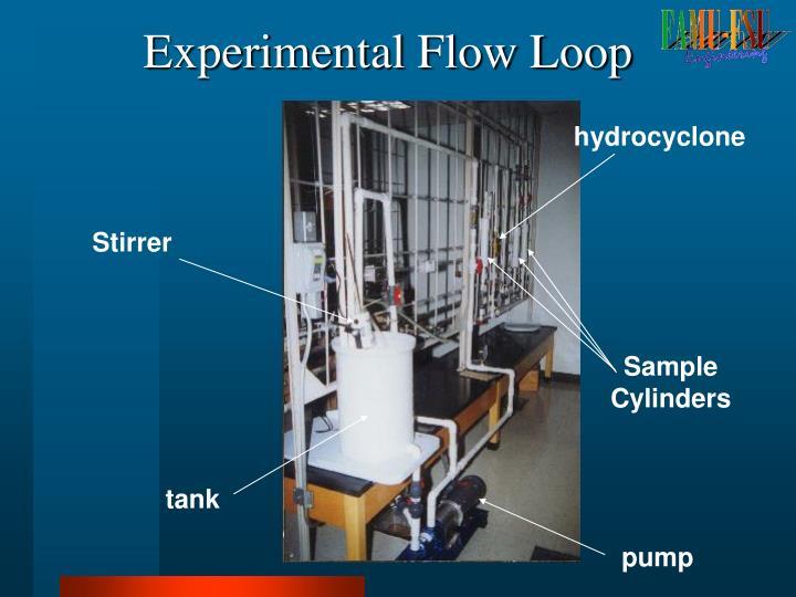 Experimental Flow Loop