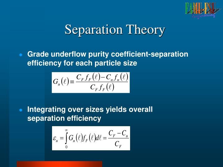 Separation Theory