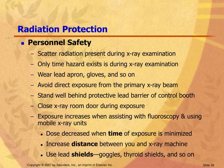 Radiation Protection