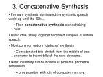 3 concatenative synthesis
