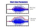 short time parameters