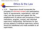 ethics the law3