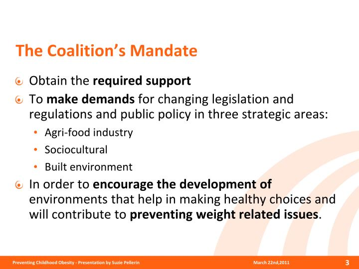 The Coalition's Mandate