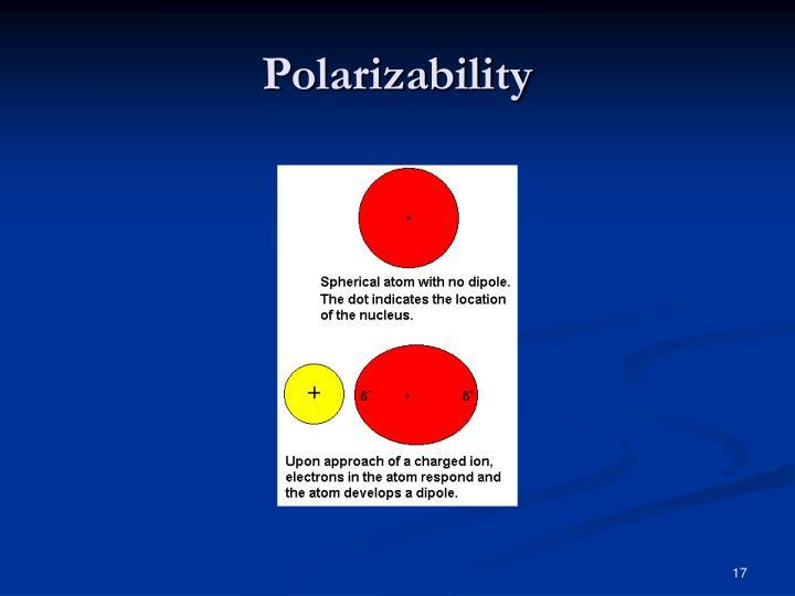 Polarizability