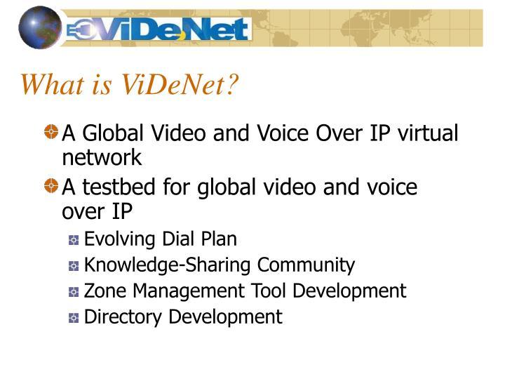 What is ViDeNet?