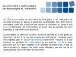 loi concernant le cadre juridique des technologies de l information1