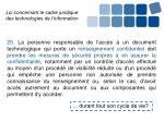 loi concernant le cadre juridique des technologies de l information10