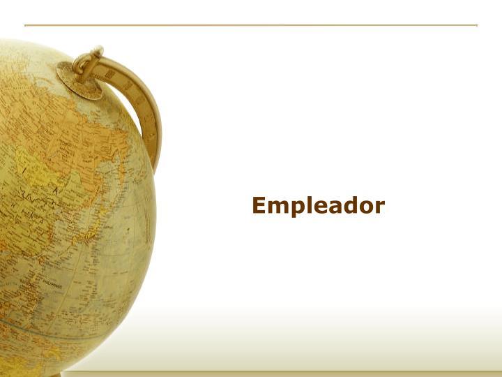 Empleador