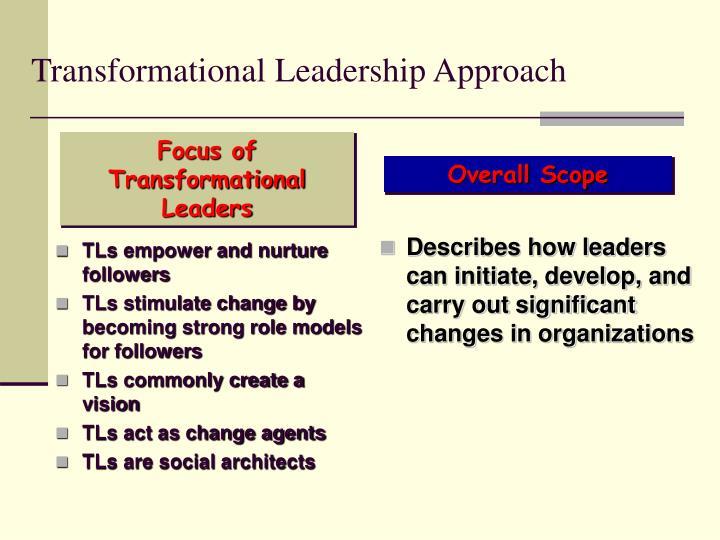 TLs empower and nurture followers