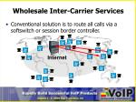 wholesale inter carrier services1