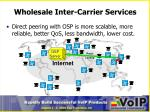 wholesale inter carrier services2