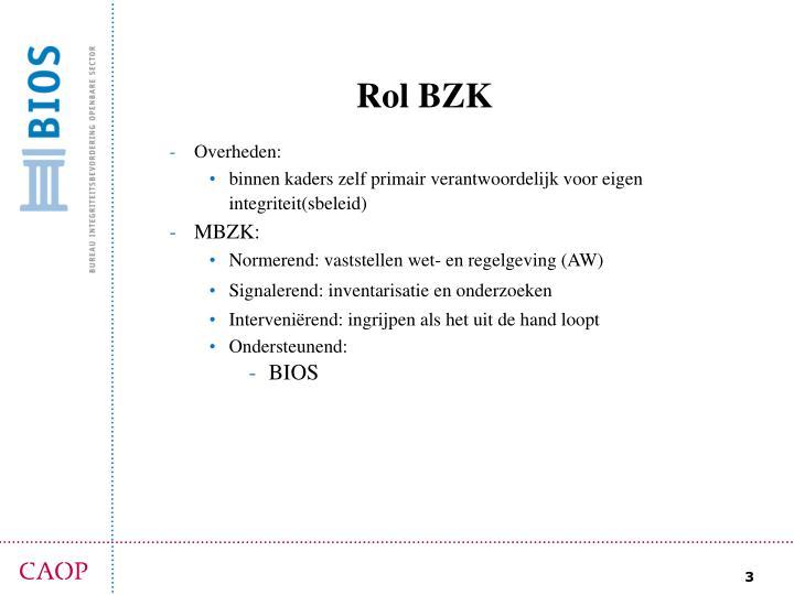 Rol BZK