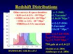 redshift distributions1
