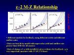 z 2 m z relationship3