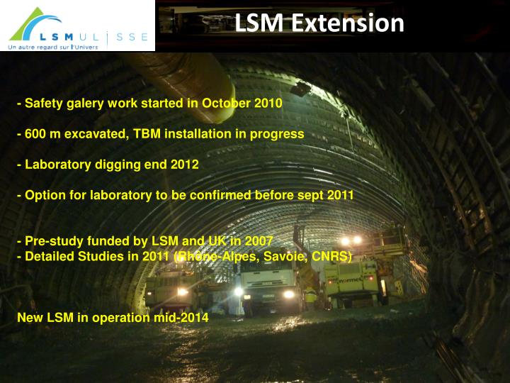 LSM Extension