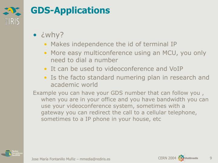 GDS-Applications