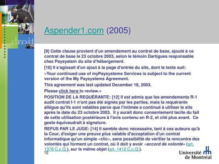 Aspender1.com
