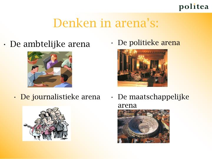 De ambtelijke arena