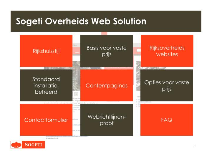 Sogeti Overheids Web Solution