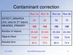 contaminant correction1
