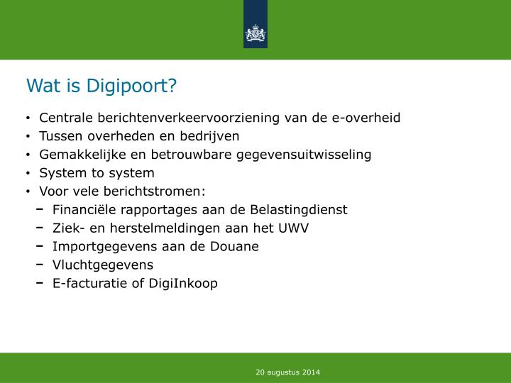Wat is Digipoort?