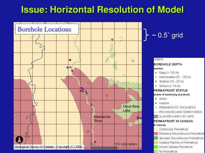 Borehole Locations