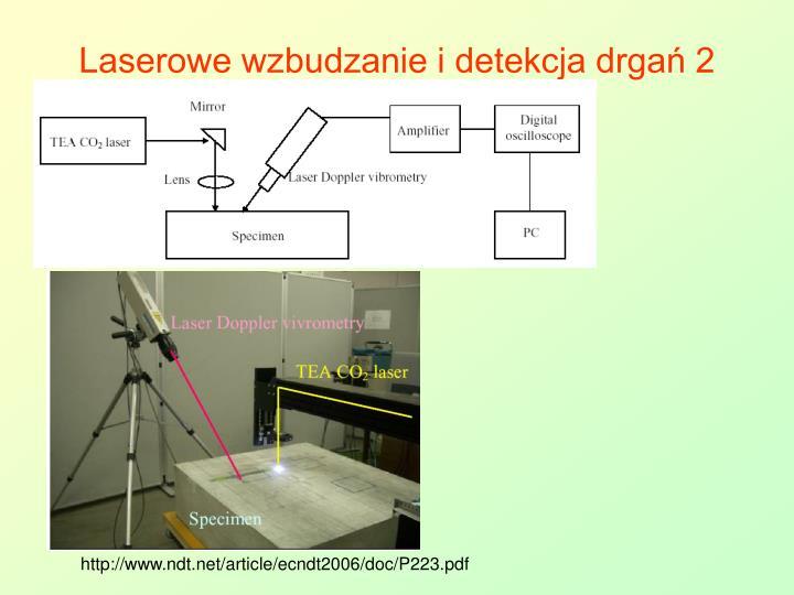 Laserowe wzbudzanie i detekcja drgań 2