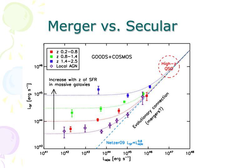 Merger vs. Secular